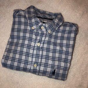 Johnnie-O Brushed Cotton Button Down Shirt